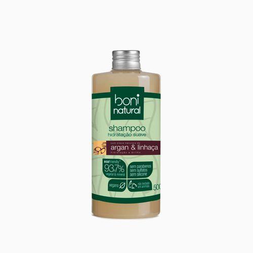 Shampoo Suave Boni Argan e Linhaça