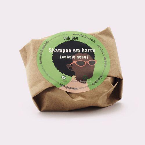 Shampoo sólido - cabelo seco Chá Dao