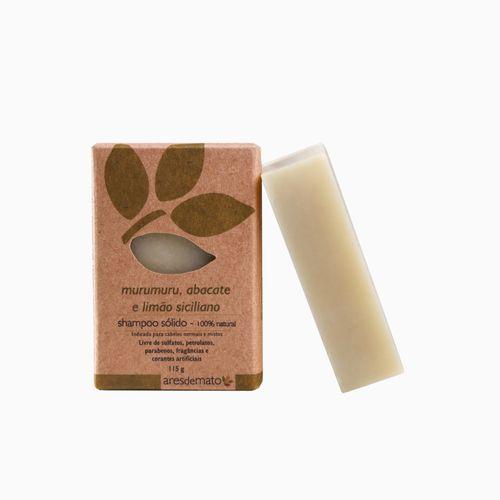 Shampoo Sólido Murumuru, Abacate e Limão Siciliano