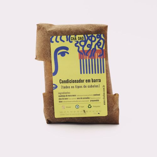 Condicionador Sólido - cabelo misto Chá Dao