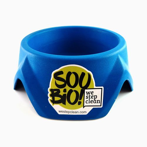 Biobowl Comedouro Grande 1500ml - Azul