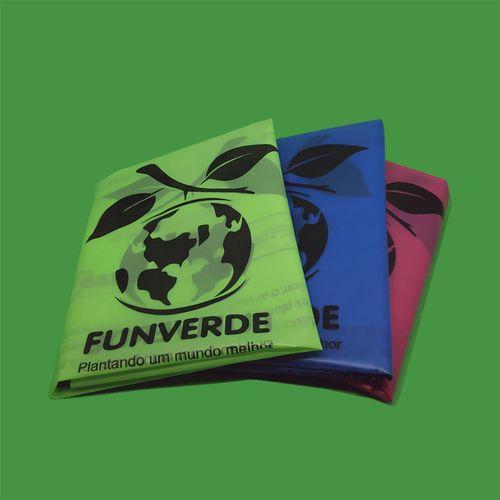 Sacola TudoBiodegradável - cores sortidas (pacote com 100)