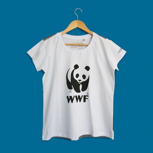 Camiseta Panda WWF - Gola Olimpica - Regular