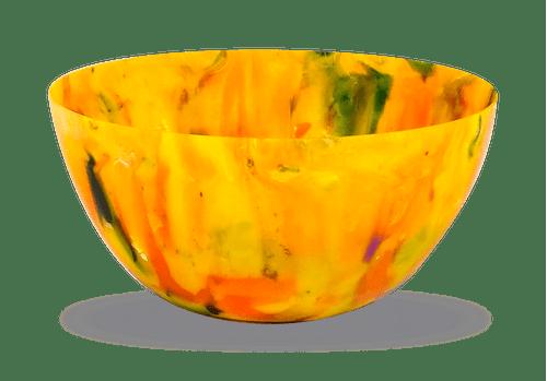 Vaso Ribeirão - plástico 100% reciclado - Amarelo
