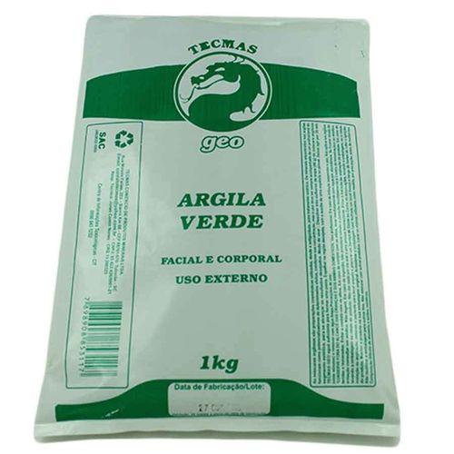 Argila Verde 1kg Tecmas