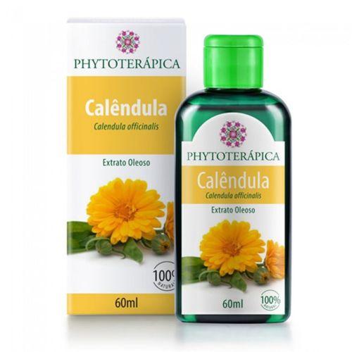 Extrato Oleoso de Calêndula 60ml Phytoterápica