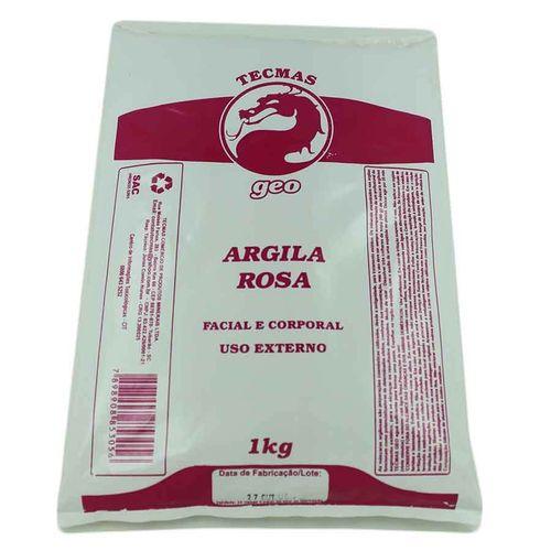 Argila Rosa 1kg Tecmas