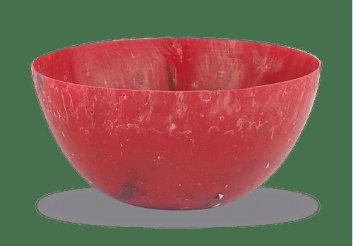 Vaso Ribeirão - plástico 100% reciclado - Vermelho