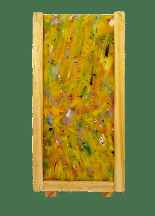 Luminária Peri com plástico 100% reciclado - Amarelo Único