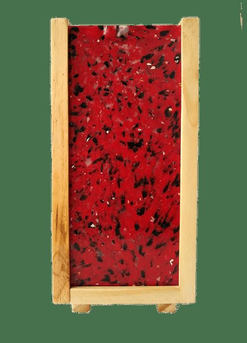 Luminária Peri com plástico 100% reciclado - Vermelho Único