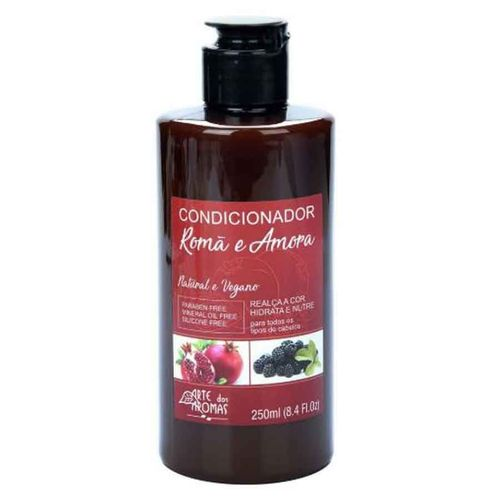Condicionador de Romã e Amora 250ml Arte dos Aromas
