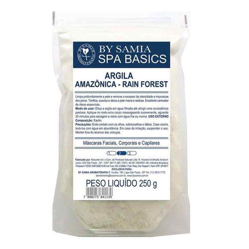 Argila Amazônica Rain Forest 250g By Samia Validade 11/21