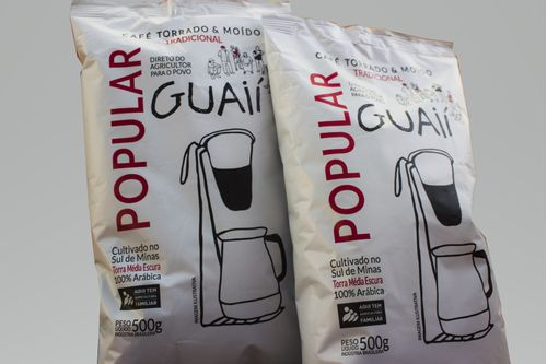 Kit 3 Cafés Guaií Popular moído 100% arábica