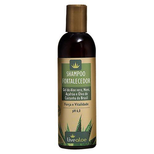 Shampoo Fortalecedor com Aloe Vera 240ml Live Aloe