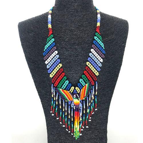 Gargantilha Colibri Embera - Colorida